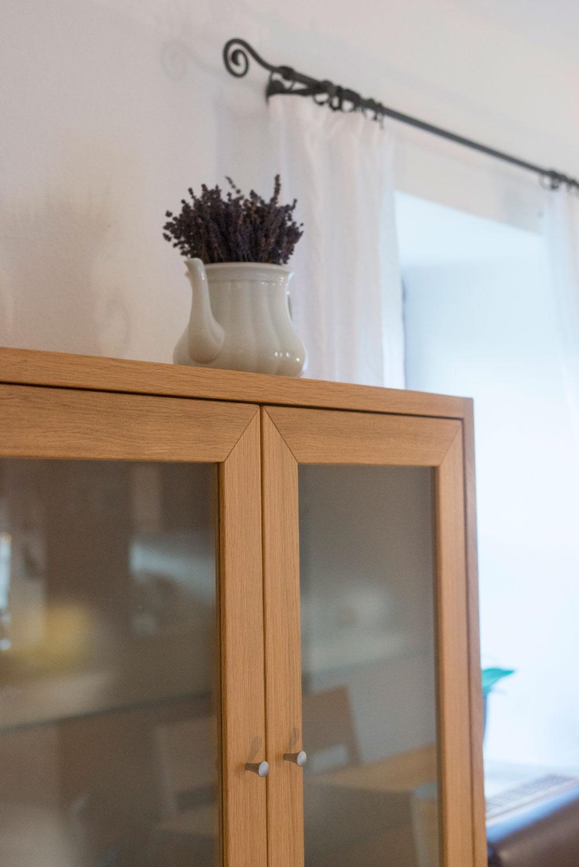 Gläserschrank wohnen tischlerei krottenthaler